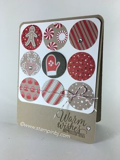 Check out the Candy Cane Lane designer series paper - On Sale!