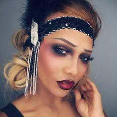 sonjadradelux #mua #makeup #modern #ombre   #20s #hair