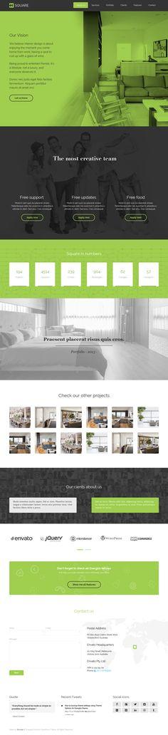 Energizo | Premium Responsive Multi-Purpose Theme #web #design