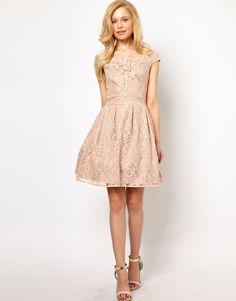 Lydia Bright   Lydia Bright Prom Dress in Lace at ASOS
