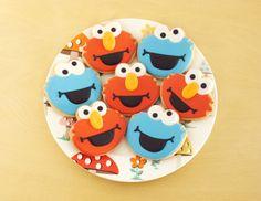 Galletas de Elmo y Triqui http://ifeelcook.es/galletas-de-elmo-y-triqui/