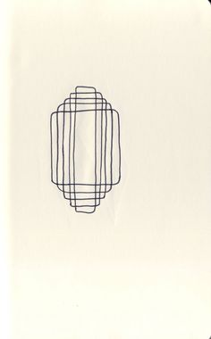 Shape No. 12 - A Shape A Day 2013: a 365-day drawing project by Jaime Derringer. #ashapeaday2013