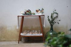 La boda de O&G. Mesa de firmas. www.piccoleandcoccole.es