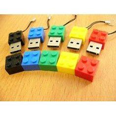 Lego style USB drive