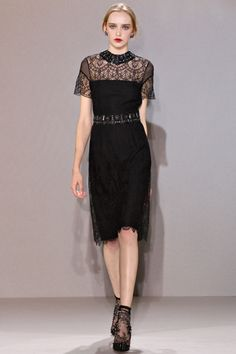 Collette Dinnigan Fall 2012 Ready-to-Wear