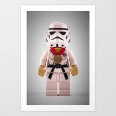Imperial Judo Trooper Art Print by MrMarkCann - $16.00
