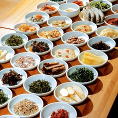 Korean side dishes to eat with rice during Korean meal