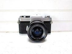 Vintage Camera Honeywell Pentax Spotmatic by GoodBonesVintageCo, $90.00