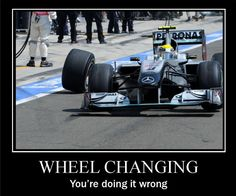 The funny side of F1 as viewed through the eyes of photoshop.