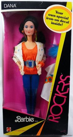 Dana from Barbie and the Rockers....A is playing with her right now...Can't believe this doll is 25 yrs old!