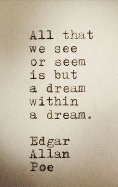 Best Quotes about Strength Items similar to Edgar Allan Poe Quote typed on Typewriter on Etsy Poem Quotes, Lyric Quotes, Words Quotes, Great Quotes, Wise Words, Quotes To Live By, Life Quotes, Inspirational Quotes, Sayings