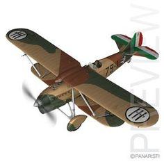Fiat CR.32quater - Italy Airforce - Regia Aeronautica - 79a Squadriglia 6 Gruppo 1 Stormo