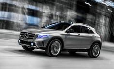 #Mercedes-Benz #Concept #GLA  Compact crossovers are like the Borg: resistance is futile.