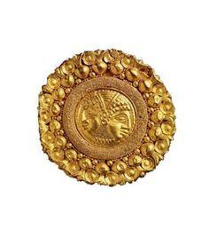 Granulation: An antique Etruscan technique. 7th cent BC