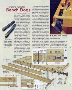 #2192 Cabinet Makers Workbench Plans - Workshop Solutions