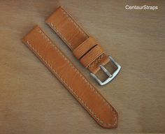 watch band Handmade natural color leather by CentaurStraps Watch Straps, Watch Bands, Vintage Fashion, Watches, Trending Outfits, Natural, Unique Jewelry, Handmade Gifts, Leather