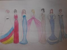 Google, YouTube, Twitter, We<3It, Instagram, Facebook and Tumblr's dresses