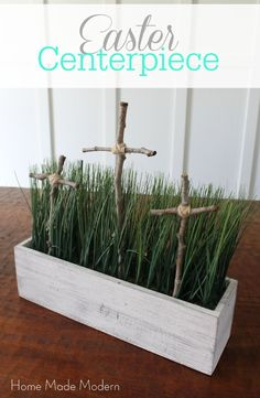 Easter centerpiece #DIYMySpring