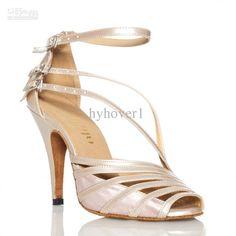 2016 Women'S High Heeled Shoes Latin Dance Shoes Latin Dancing ...