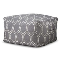 Threshold™ Ikat Toss Pillow - Gray