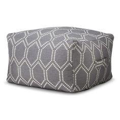 Threshold™ Ikat Toss Pillow - Gray