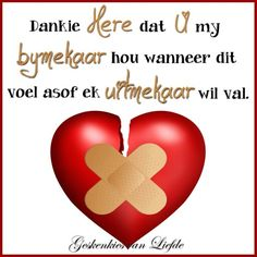 wanneer dit voel of alles uitmekaar val. Church Backgrounds, Best Quotes, Life Quotes, Afrikaanse Quotes, Thank You God, Angels In Heaven, My Journal, God Jesus, Trust God