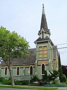 Church of the Good Shepherd, Episcopal,  Berkeley, California, 1878. photo by Daniella Thompson