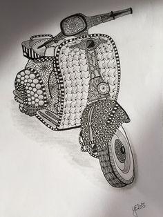 Zentangle Roller