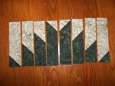 Delectable Mountain Quilt Block Layout by Janice Elaine Sews ~ A ... : delectable mountain quilt - Adamdwight.com