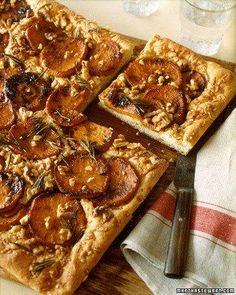 Caramelized Sweet Potato Focaccia Recipe