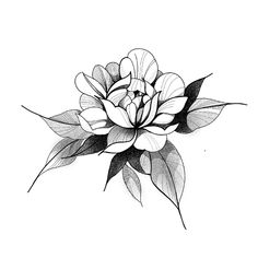 Discover recipes, home ideas, style inspiration and other ideas to try. Rose Tattoos, Leg Tattoos, Flower Tattoos, Sleeve Tattoos, Japanese Flower Tattoo, Japanese Flowers, Floral Tattoo Design, Flower Tattoo Designs, Tattoo Stencils