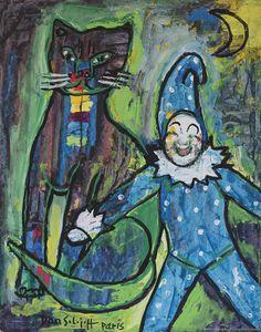 Dan SOLOJOFF   Saint Pétesbourg 1908 - Paris 1994 Ecole de peinture surréaliste Russe #JeanPierreRoudot #Cigmiephotos #PhotographeMariage #ReportageMariage http://www.cigmiephotos.com http://www.almaphotographies.com ...