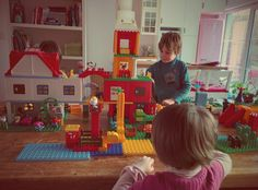 Welcome to our Duploland !  DUPLO toujours dans le coup !