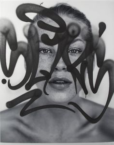 From Julien's Auctions, Rafael Sliks, Sardas (Freckles) Photographic print with aerosol, 40 × 32 in