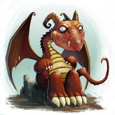 Dragon pet by alihai - Leonardo Calamati - CGHUB