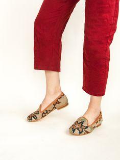 Women's Turkish Kilim Rug Loafer Turkish Kilim Rugs, Loafers, Free Shipping, Shoes, Fashion, Travel Shoes, Moda, Zapatos, Moccasins