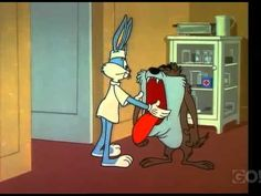 This is a 1964 Warner Bros Short, directed by Robert McKimson, for the Merrie Melodies series. It features Bugs Bunny & the Tasmanian Devil. Cartoon Clip, Cartoon Gifs, Cartoon Characters, Looney Tunes Bugs Bunny, Looney Tunes Cartoons, Best Cartoons Ever, Cool Cartoons, Comedy Short Films, Superman And Spiderman