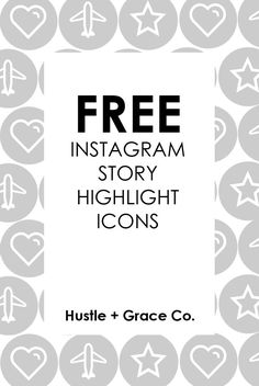 CUSTOM instagram story highlight icons - now available ...