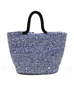 French Connection Woven Beach Bag in Bali Floral