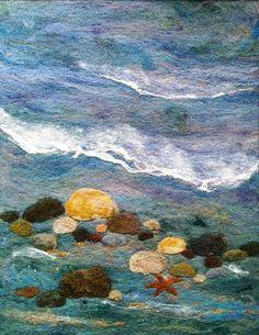 Sea Shore Too by Deebs Fiber Arts