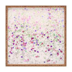 Lisa Argyropoulos Cherry Blossom Spring Square Tray | DENY Designs Home Accessories