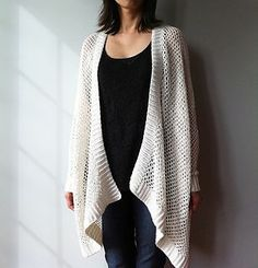 Easy Trendy Crochet Jacket: pattern for purchase