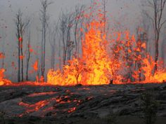 Ring Of Fire Volcanoes, Wrangel Island, Russia - One of the most interesting tourist spots in Russia. You'll see blasts of ash and steam spewing straight from the volcanoes