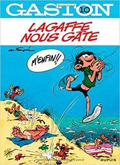 Bande Dessinée  - Gaston - tome 10 - Lagaffe nous gâte - André Franquin - Livres