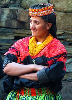 graceful kailasha women - Pakistan