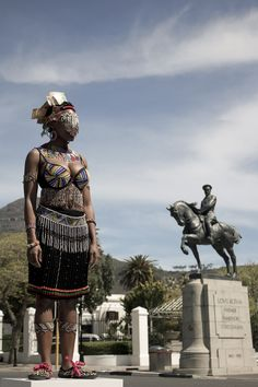 Sethembile Msezane is a Cape Town based artist, born in KwaZulu-Natal, bred in Joburg and currently. Duke University Press, University Of Cape Town, Recurring Dreams, Contemporary African Art, South African Artists, Bachelor Of Fine Arts, Positive Images, Out Of Africa, Young Black