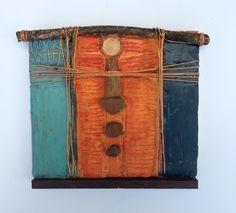 Arizona#3 encaustic repurposed by Harmony Jones