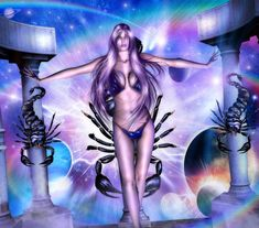 Scorpio: The Scorpion Scorpio Art, Scorpio Woman, Scorpio Zodiac, Zodiac Signs, Wonder Woman, Fantasy, Superhero, Gallery, Artwork
