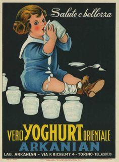 Vintage Italian Posters ~ ME PIEMONT - MANIFESTI