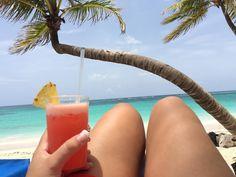 Cheers from Punta Cana - Tropical cocktail at Riu Palace Bavaro - All Inclusive Hotel - RIU Hotels & Resorts